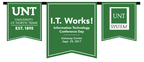 I.T. Works! Conference Day Banner