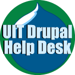 Visit the UIT Drupal Help Desk for resources to build your UNT website.