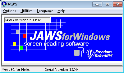 photo of jaws for windows logo