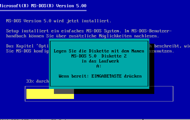 MS Dos 5