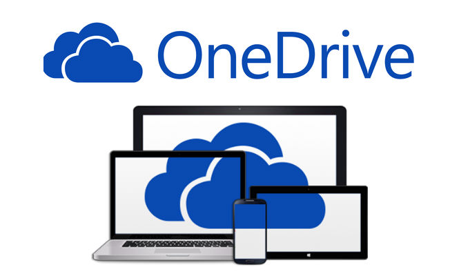 logo for One Drive cloud storage service at UNT