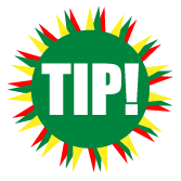 graphic of the word tip
