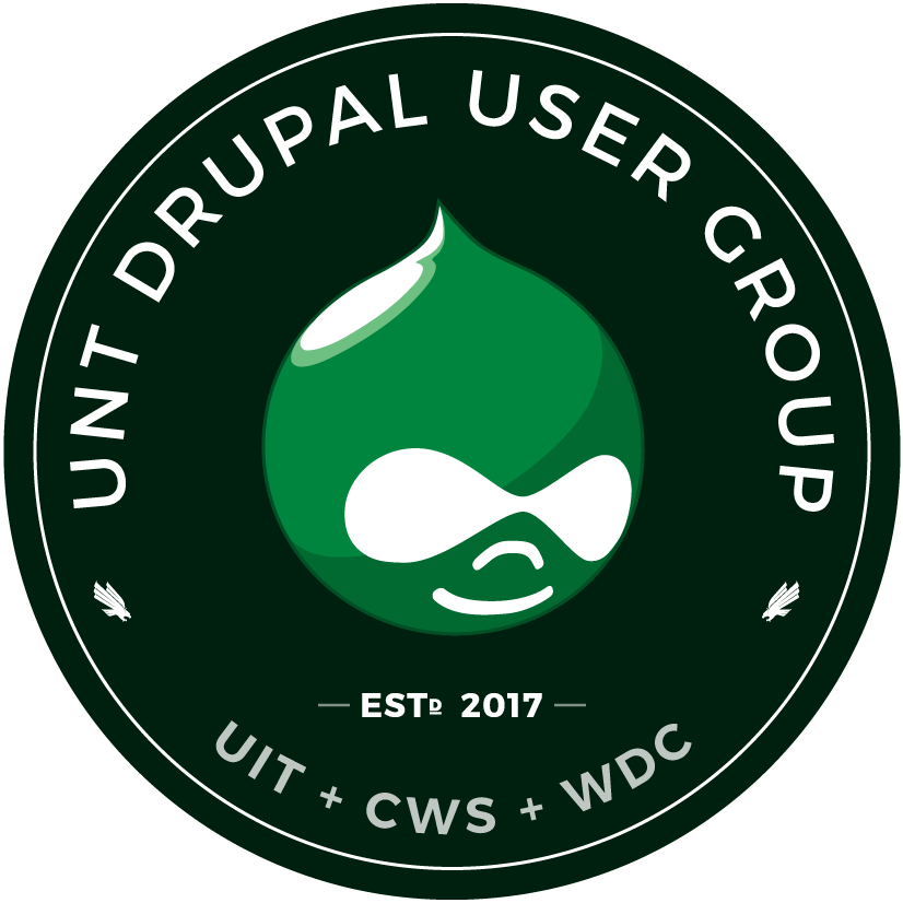 UNT Drupal Users Group emblem